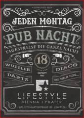 Pub Night, 1020 Wien  2. (Wien), 04.11.2013, 18:00 Uhr