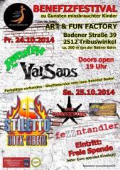 Benefizfestival zu Gunsten missbrauchter Kinder, 2512 Tribuswinkel (NÖ), 25.10.2014, 19:00 Uhr