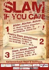 Slam, if you can!@VolXhaus, 9020 Klagenfurt  1. (Ktn.), 14.03.2015, 19:30 Uhr