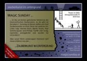 Magic Sunday - Zauberkunst im Untergrund, 8010 Graz  6. (Stmk.), 05.12.2010, 19:00 Uhr