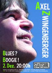 Axel Zwingenberger - Blues?  Boogie!, 1060 Wien,Mariahilf (Wien), 02.12.2013, 20:00 Uhr