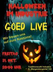 Halloween-Party mit GOED live im Industrie!, 1050 Wien  5. (Wien), 31.10.2014, 20:00 Uhr