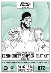 Guilty Simpson, Elzhi & Phat Kat (Detroit, USA) presented by Fear le Funk, 1080 Wien  8. (Wien), 07.12.2014, 20:00 Uhr