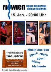 riowien im Industrie!, 1050 Wien  5. (Wien), 15.01.2015, 20:00 Uhr