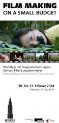 Film making on a small budget, 5020 Salzburg (Sbg.), 10.02.2014, 09:00 Uhr