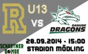 U13 AFC Rangers - Danube Dragons, 2340 Mödling (NÖ), 28.09.2014, 15:00 Uhr