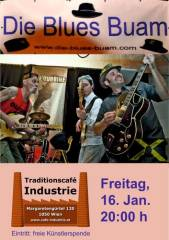 Die Blues Buam im Industrie!, 1050 Wien  5. (Wien), 16.01.2015, 20:00 Uhr