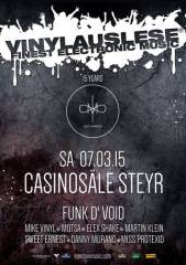 Vinylauslese - 15 years of Injectionmusic, 4400 Steyr (OÖ), 07.03.2015, 21:00 Uhr