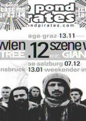 The POnd Pirates, Giantree, Chronic City, 1110 Wien 11. (Wien), 06.12.2013, 20:00 Uhr