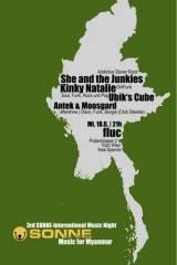 3rd Sonne-International Music Night - Music for Myanmar, 1020 Wien  2. (Wien), 18.06.2014, 21:00 Uhr
