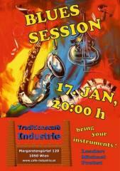 Blues Session im Industrie!, 1050 Wien  5. (Wien), 17.01.2015, 20:00 Uhr