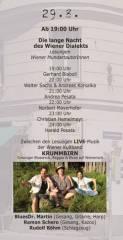 100 Jahre Traditionscafé Industrie Das 3-Tages-Fest / Tag 2, 1050 Wien  5. (Wien), 29.08.2014, 19:00 Uhr