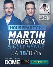 Houseparty ba Martin Tungevaag, 1020 Wien  2. (Wien), 18.10.2014, 22:00 Uhr