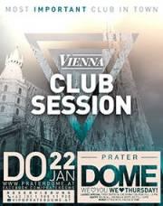 Vienna Club Session, 1020 Wien  2. (Wien), 22.01.2015, 22:00 Uhr