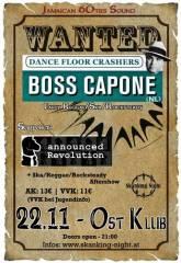 Reggae/Ska Sensation feat. Boss Capone (Nl) + Announced Revolution, 1040 Wien  4. (Wien), 22.11.2013, 21:00 Uhr