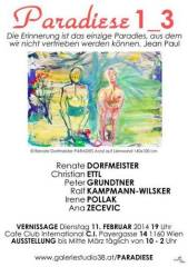 Paradiese 1_3, 1160 Wien 16. (Wien), 11.02.2014, 19:00 Uhr