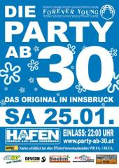 Forever Young - Die Party ab 30, 6020 Innsbruck (Trl.), 25.01.2014, 22:00 Uhr