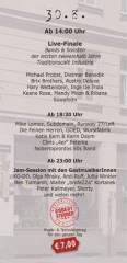 100 Jahre Traditionscafé Industrie Das 3-Tages-Fest / Tag 3, 1050 Wien  5. (Wien), 30.08.2014, 14:00 Uhr
