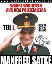 Manfred Satke: Wahre Wuchteln aus dem Polizeialltag, 1090 Wien  9. (Wien), 31.01.2015, 20:00 Uhr