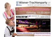 6. Wiener-Trachtenparty in der Bergstation Tirol am Karlsplatz 5, 1010 Wien, 1010 Wien,Innere Stadt (Wien), 15.03.2014, 21:00 Uhr