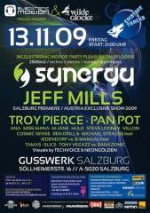 """Synergy"" indoor festival with Jeff Mills & more!, 5020 Salzburg (Sbg.), 13.11.2009, 21:00 Uhr"