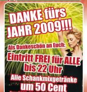 Danke fürs Jahr 2009, 9020 Klagenfurt  1. (Ktn.), 01.01.2010, 20:30 Uhr