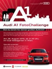 Audi A1 FotoChallenge - Live Shooting mit Germanys Next Topmodel Lena Gercke und Rolfe Scheider, 1010 Wien  1. (Wien), 26.08.2010, 22:00 Uhr