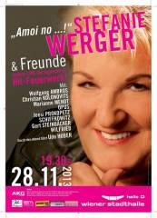 """""""Amoi no"""": Stefanie Werger & Friends, 1150 Wien 15. (Wien), 28.11.2013, 20:00 Uhr"""