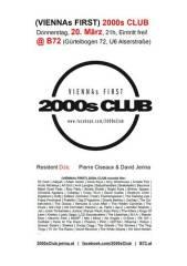 2000s Club @ B72, 1080 Wien  8. (Wien), 20.03.2014, 21:00 Uhr