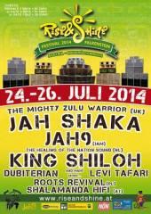 Rise & Shine Festival, 2162 Falkenstein (NÖ), 26.07.2014, 14:00 Uhr
