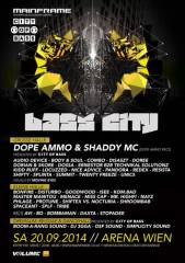 Mainframe and City of Bass pres. Bass City -  The Ultimate Crew Showdown in Austrian Drum'n'Bass, 1030 Wien  3. (Wien), 20.09.2014, 22:00 Uhr