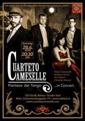 """Cuarteto Cameselle """"Piantaos del Tango"""", 1040 Wien  4. (Wien), 28.06.2014, 20:30 Uhr"""
