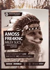 bass.invadaz, 4020 Linz (OÖ), 19.09.2014, 22:00 Uhr
