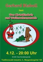 Von Christkinderln und Weihnachtsmandeln - Gerhard Blaboll im Industrie!, 1050 Wien  5. (Wien), 04.12.2014, 19:30 Uhr