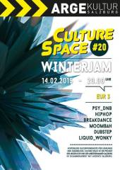 Culture Space #20, 5020 Salzburg (Sbg.), 14.02.2015, 20:00 Uhr