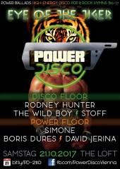POWER DISCO  Eye of the Tiger, 1160 Wien,Ottakring (Wien), 21.10.2017, 21:45 Uhr