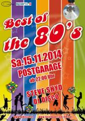 Best of the 80s, 8020 Graz  5. (Stmk.), 15.11.2014, 22:00 Uhr