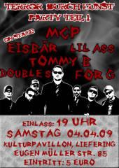 Terror Durch Kunst Party Teil1, 5020 Salzburg (Sbg.), 04.04.2009, 19:00 Uhr