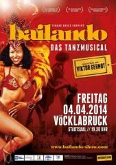 Bailando - das Tanzmusical, 4840 Vöcklabruck (OÖ), 04.04.2014, 19:30 Uhr