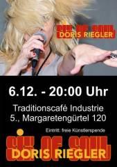 Doris Riegler & Six of Soul im Industrie!, 1050 Wien  5. (Wien), 06.12.2014, 20:00 Uhr