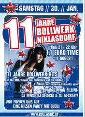 11 Jahre Bollwerk Niklasdorf, 8712 Niklasdorf (Stmk.), 30.01.2010, 20:30 Uhr