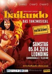 Bailando - das Tanzmusical, 4060 Leonding (OÖ), 05.04.2014, 19:30 Uhr