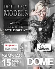 // Bottles & Models feat. ATV Wien Tag und Nacht Casting, 1020 Wien  2. (Wien), 15.03.2014, 22:00 Uhr