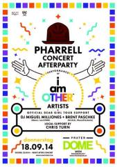 Pharrell Williams Concert - Afterparty @ Dome, 1020 Wien  2. (Wien), 18.09.2014, 22:00 Uhr