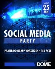 Social Media Party, 1020 Wien  2. (Wien), 25.01.2014, 22:00 Uhr
