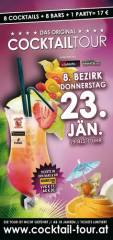 Cocktailtour Wien, 1080 Wien  8. (Wien), 23.01.2014, 19:00 Uhr