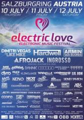 Electric Love Festival 2014, 5325 Plainfeld (Sbg.), 12.07.2014, 18:00 Uhr
