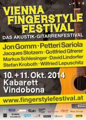 Vienna Fingerstyle Festival 2014 - Das Akustikgitarren-Festival, 1200 Wien 20. (Wien), 11.10.2014, 20:00 Uhr