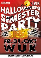 Halloween Semester Party, 1090 Wien  9. (Wien), 31.10.2014, 22:00 Uhr