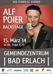 Alf Poier, 2822 Erlach (NÖ), 15.03.2014, 20:00 Uhr